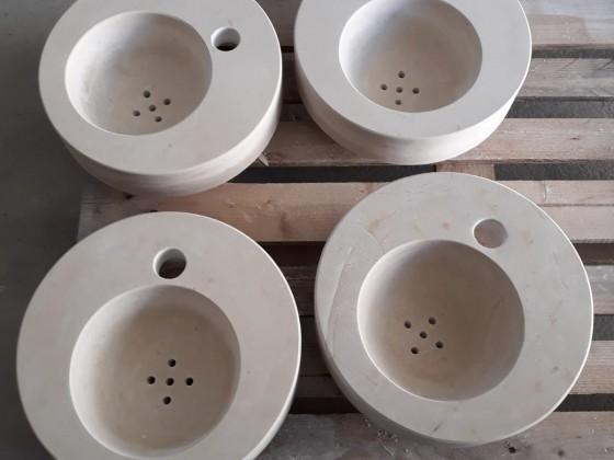 Elementi per la realizzazione di una fontana